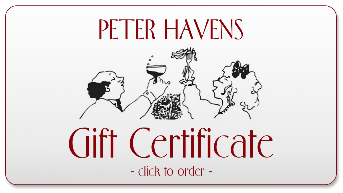 order gift certificate